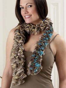 Trendsetter Flamenco & Cha Cha Print Reversible Scarf Kit - Scarf and Shawls
