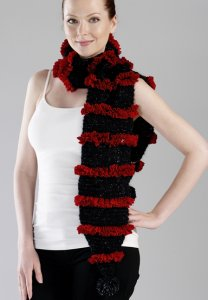 Trendsetter Dune & Cha Cha Pom Pom Scarf Kit - Scarf and Shawls
