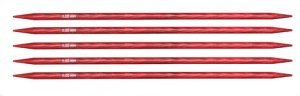 "Knitter's Pride Dreamz Double Point Needles - US 8 - 5"" (5.0mm) Cherry Blossom Needles"