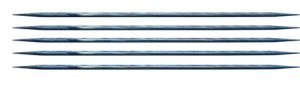 "Knitter's Pride Dreamz Double Point Needles - US 11 - 5"" (8.0mm) Royale Blue Needles"