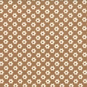 Urban Chiks Boho Fabric - Bohemian Daisies - Earth (31091 16)