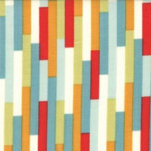 Urban Chiks Boho Fabric - Eclectic - Rain (31094 14)