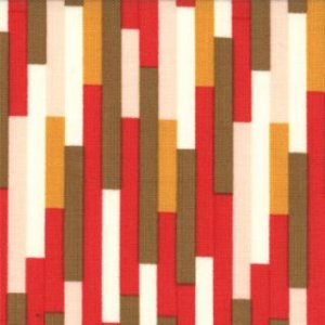 Urban Chiks Boho Fabric - Eclectic - Scarlet (31094 11)