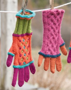Classic Elite Colors by Kristen Sebastion Gloves Kit - Hats and Gloves
