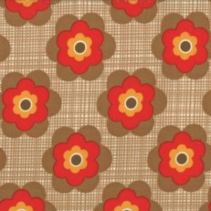Urban Chiks Boho Fabric - Wild Child - Earth (31095 16)