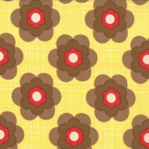 Urban Chiks Boho Fabric - Wild Child - Sunshine (31095 13)
