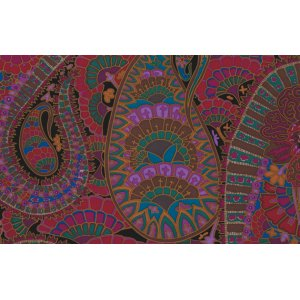 Kaffe Fassett Belle Epoch Fabric - Black
