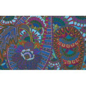 Kaffe Fassett Belle Epoch Fabric - Blue