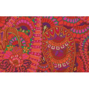 Kaffe Fassett Belle Epoch Fabric - Red