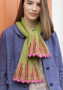 Classic Elite Color by Kristen Otto Scarf Kit - Scarf and Shawls