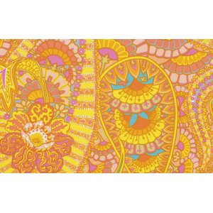 Kaffe Fassett Belle Epoch Fabric - Yellow