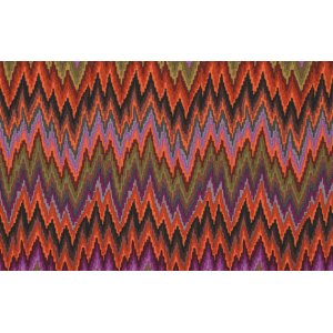 Kaffe Fassett Flame Stripe Fabric - Brown
