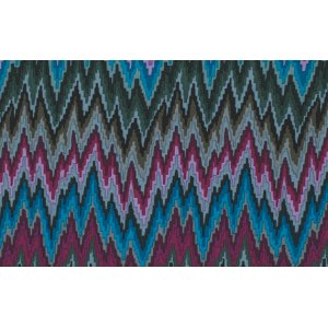 Kaffe Fassett Flame Stripe Fabric - Dark