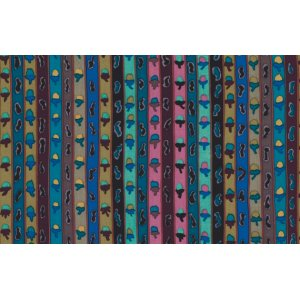 Kaffe Fassett Ribbon Stripe Fabric - Smoky
