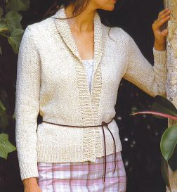 Rowan Summer Tweed Cinnamon Kit - Women's Cardigans