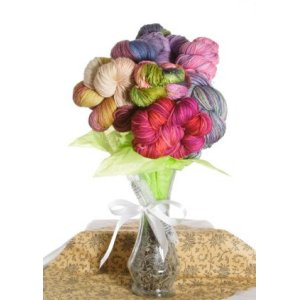 Jimmy Beans Wool Koigu Yarn Bouquets - '13 Mother's Day Bouquet - Full Bouquet