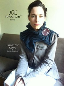 Jul Topografie Series Patterns - Lava Flow Cowl Pattern