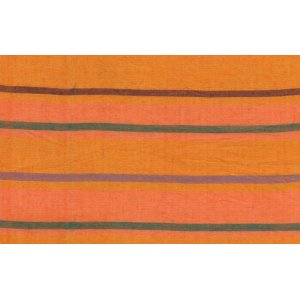 Kaffe Fassett Woven Stripe Fabric - Alternating Stripe - Orange