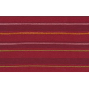 Kaffe Fassett Woven Stripe Fabric - Alternating Stripe - Red