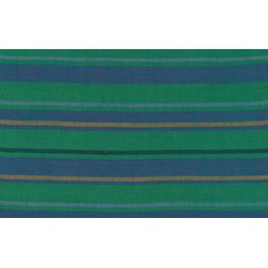 Kaffe Fassett Woven Stripe Fabric - Alternating Stripe - Teal