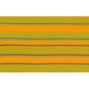 Kaffe Fassett Woven Stripe Fabric - Alternating Stripe - Yellow