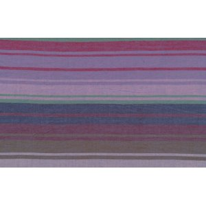 Kaffe Fassett Woven Stripe Fabric - Exotic Stripe - Midnight