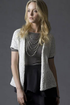 Tahki Stacy Charles Ripple Cruise Ship Cardigan Kit - Women's Cardigans