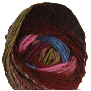 Noro Hitsuji Yarn - 17 Red, Pink, Lime