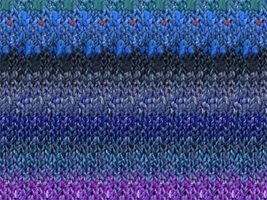 Noro Odori Yarn - 02 Royal, Navy, Purple