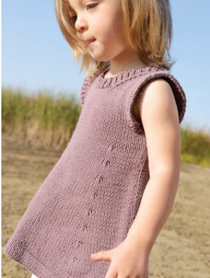 Blue Sky Fibers Baby & Children Patterns - Harriet Dress Pattern