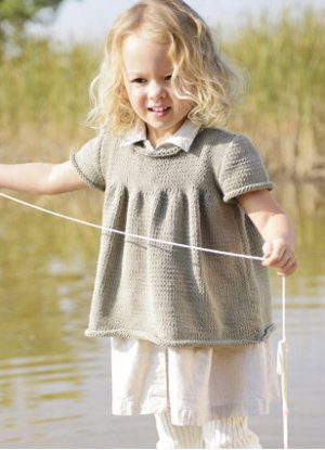 Blue Sky Fibers Baby & Children Patterns - Beatrice Top Pattern