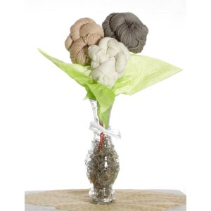 Jimmy Beans Wool Yarn Bouquets - Malabrigo Uno Dos Tres Bouquet - Neutrals