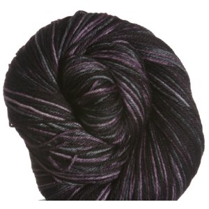 Knit One, Crochet Too Crock-O-Dye Yarn - 734 Plum Black