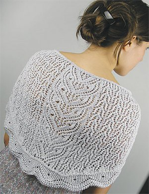 Knit One, Crochet Too Patterns - Lacy Owls Shawl Pattern