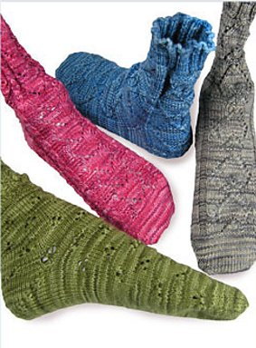 Knit One, Crochet Too Patterns - Texas Hold'em Socks Pattern