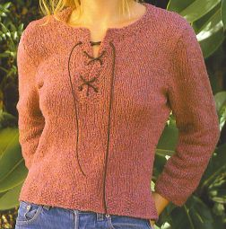 Knitting Patterns For Rowan Summer Tweed : Rowan Summer Tweed Chamomile Kit - Womens Pullovers Kits at Jimmy Beans ...