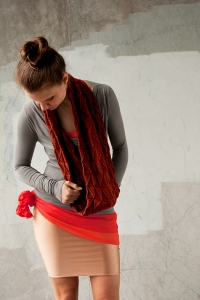 Shibui Knits Staccato Hypotenuse Kit - Scarf and Shawls