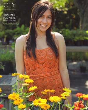 Classic Elite Pattern Books - 9137 Summer Flowers