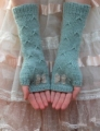 Rowan Pure Wool & Kidsilk Haze Catching Butterflies Mitts
