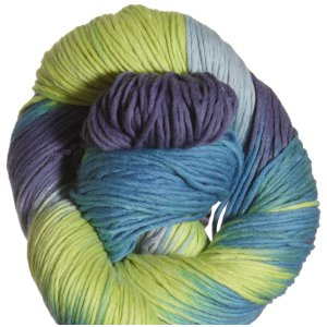 Euro Baby Cuddly Cotton Yarn - 101 Blue, Green, Royal