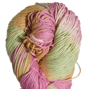 Euro Baby Cuddly Cotton Yarn - 102 Lime, Orange, Pink