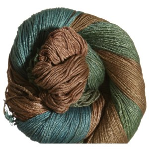 Araucania Ruca Yarn - 025 - Chocolate, Blue, Olive