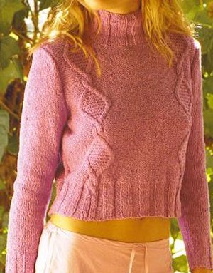 Rowan Summer Tweed Lavender Kit - Women's Pullovers
