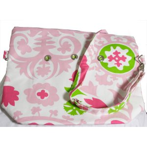 Top Shelf Totes Yarn Pop - Totable - Green & Pink Swirl