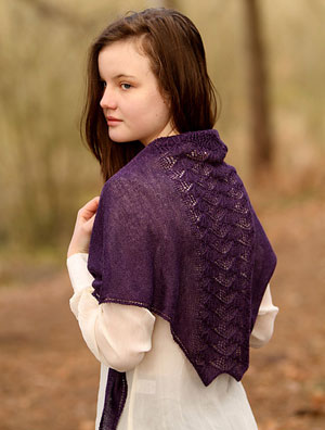 Fyberspates Scrumptious Lace Sonning Shawl Kit - Scarf and Shawls