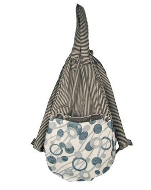 Lantern Moon Swing Bucket - Grey Bubbles