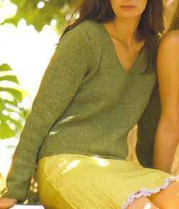 Rowan Summer Tweed Basil Kit - Women's Pullovers
