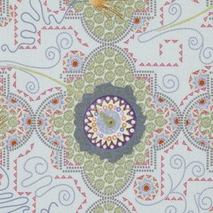 Dan Bennett Temple Fabric - Temple - Moonstone