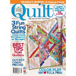 Quilt Magazine - '13 June/July