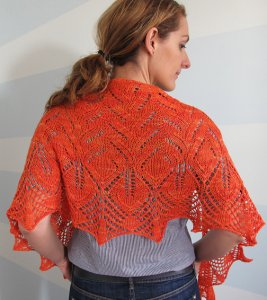 Baah Yarn Patterns - Fine Vine Pattern